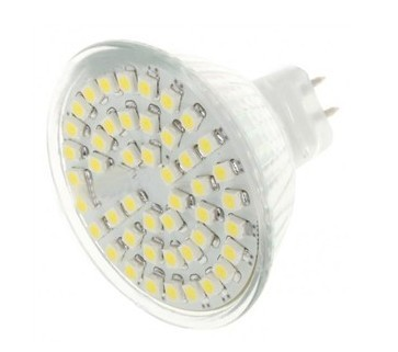 LAMPARA MULTILED 6W MR-16 12V BLANCO CALIDO
