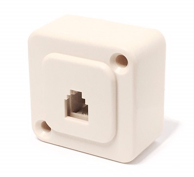 1262 TELEPHONE BASE 4 CONTACTS FRONTAL OUTPUT