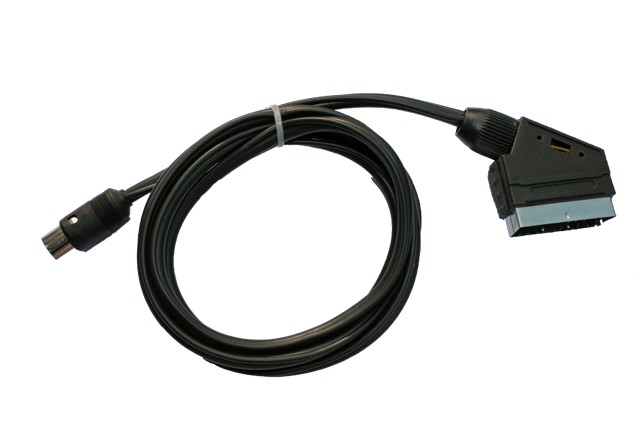 1107  CABLE EURO A MINI DIN MACHO 4 CONTACTOS--