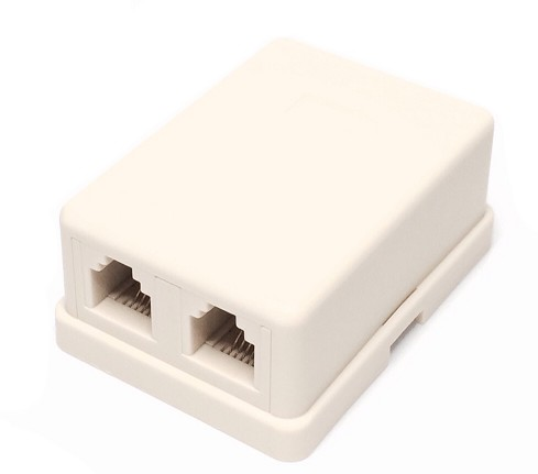 1259-D BASE TELEPHONE 4 CONTACTS DOUBLE SIDE OUTPUT