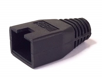 1289/BLACK RJ-45 BOOT COVER BLACK