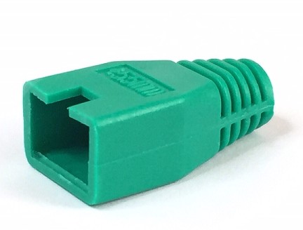 1289/GREEN RJ45 BOOT COVER GREEN