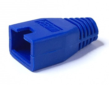 1289/BLUE BOOT COVER RJ45 CONNECTOR BLUE