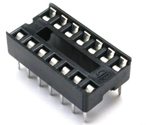 4060/14  SOCKET INTEGRATED CIRCUIT 14 CONTACTS