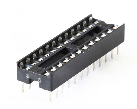 4060/24 SOCKET INTEGRATED CIRCUIT 24 CONTACTS