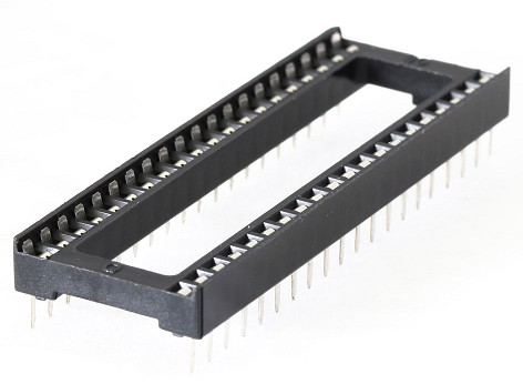4060/40 SOCKET INTEGRATED CIRCUIT  40 CONTACTS