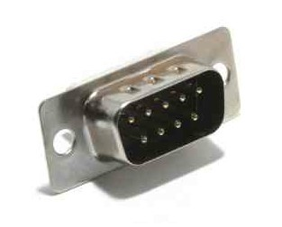 CONECTOR DB9 MACHO SUB-D SOLDABLE