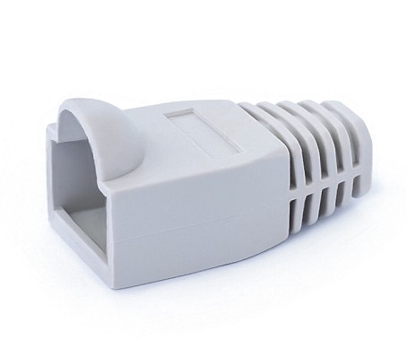 1289/GRIS BOOT COVER RJ45 CONNECTOR GREY