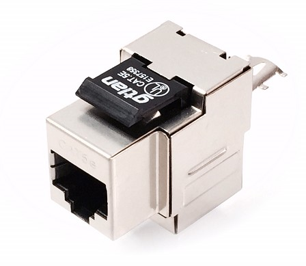 50KF5 RJ45 FEMALE CONNECTOR FTP CAT-5e
