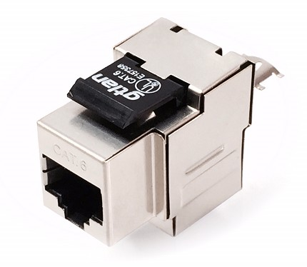 50KF6 RJ45 FEMALE CONNECTOR FTP CAT-6