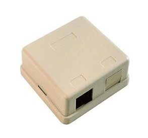 50RU2 SURFACE BOX 2 RJ45 UTP CAT-5