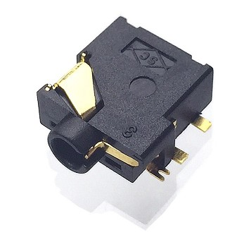 BASE JACK 2.5mm STEREO TIPO SMD