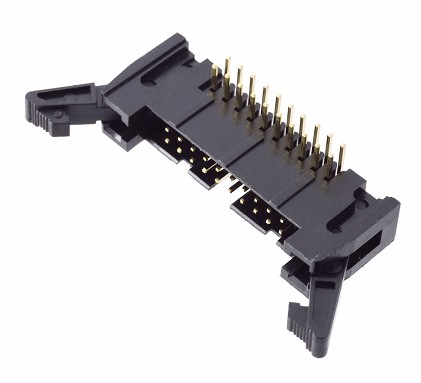 CO-1520L IDC ELBOW MALE FLAT CABLE CONNECTOR 20 PINS PCB