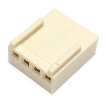 CO-3404 FEMALE CONNECTOR 4 PIN 2.54 mm