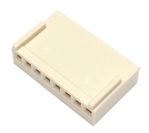 CO-3408  FEMALE CONNECTOR 8 PIN 2.54 mm