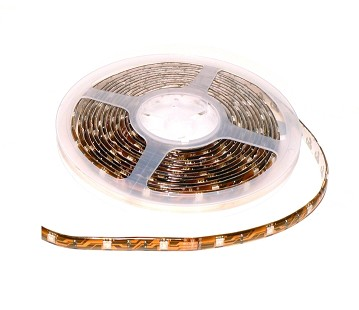 TIRA LED FLEXIBLE AMARILLO 3528 12V IP67 MODULO 3 LED