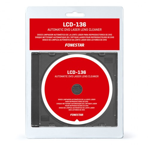 LCD-136 DVD LASER LENS CLEANER DISC