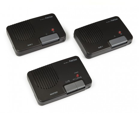KE-282-3 SET OF 3 INTERCOMS WITH CABLE FONESTAR