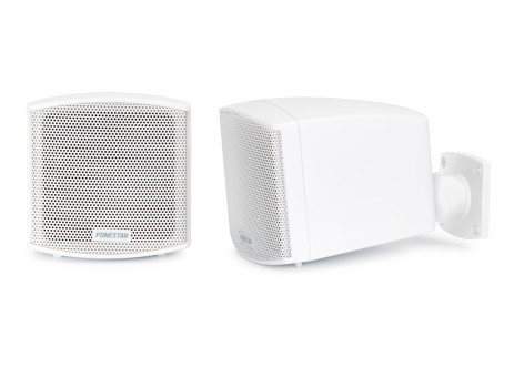 CUBE-62B PAIR OF LOUDPEAKERS 25W WHITE