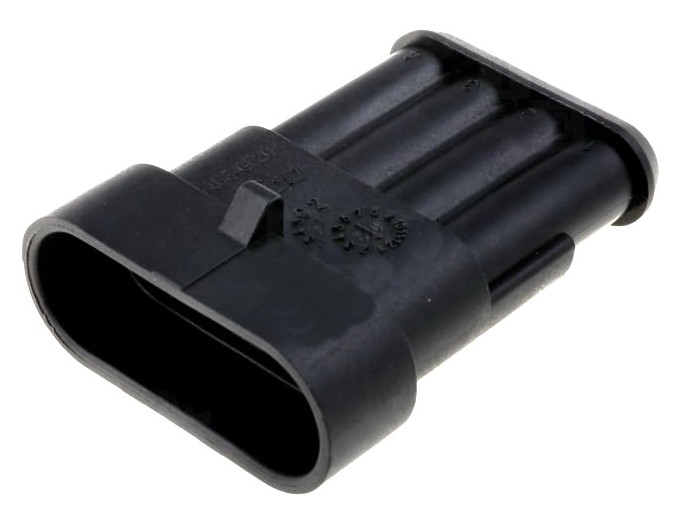 282106-1 CONECTOR AMP SUPERSEAL 1.5 MACHO 4 PINES IP67