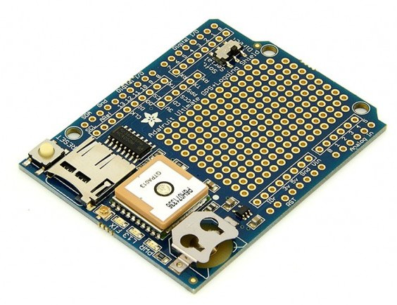 ADAFRUIT ULTIMATE GPS LOGGER SHIELD PARA ARDUINO
