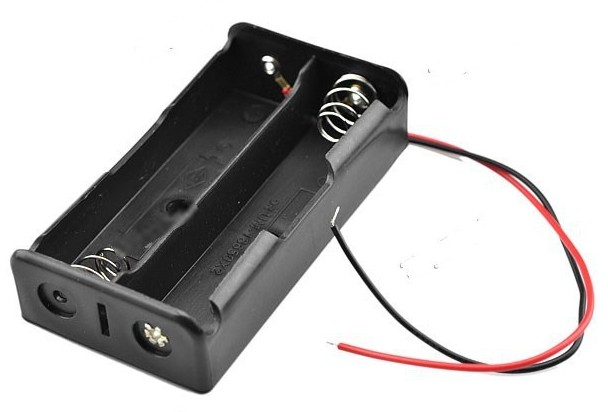 BATTERY HOLDER FOR 18650 2x18650 7.4V